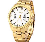 Нарядные часы Модные часы Китайский Кварцевый Металл Группа Винтаж Золотистый