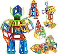 Недорогие -Конструкторы Магнитный конструктор Наборы магнитных конструкторов Обучающая игрушка Игрушки Квадратный Круглый Треугольник 3D Магнитный