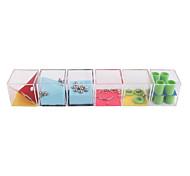 Недорогие -Лабиринты и логические головоломки Игрушки 3D куб-головоломка Игрушки Металл 3 Куски Универсальные Подарок
