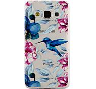 Для samsung galaxy a3 a5 (2017) покрытие корпуса kingfisher образец клей лак высокое качество тпу материал корпус телефона a3 a5