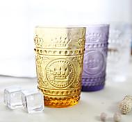 Color novedad drinkware 250 ml novio regalo novia regalo vidrio cerveza jugo vidrio