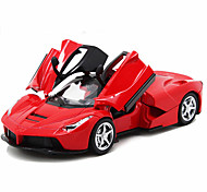 Die-Cast Vehicles Pull Back Vehicles Toy Cars Race Car Toys Car Horse Metal Alloy Metal Pieces Unisex Gift