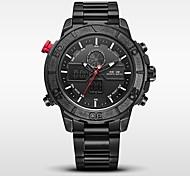 WEIDE Мужской Спортивные часы Армейские часы Японский Цифровой Японский кварцLED LCD Календарь Защита от влаги С двумя часовыми поясами