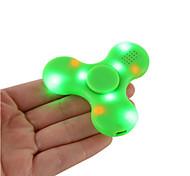 Fidget Spinner Hand Spinner Bluetooth Speaker Built in Fingertip gyroscope Speakers LED Light Tri-Spinner Fidget Anti Stress Speaker