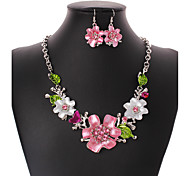 Women's Jewelry Set Euramerican Wedding Party Special Occasion Birthday Congratulations Business Engagement Casual Office & Career Chrome