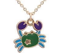 Жен. Ожерелья-бархатки Ожерелья с подвесками Ожерелья-цепочки Бижутерия В форме животных Сплав Базовый дизайн Животный дизайн Стразы