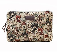 cheap -11.6 12 13.3 14.1 15.6 inch Cute Bear Computer Bag Notebook Sleeve Case for Surface/Dell/HP/Samsung/Sony etc