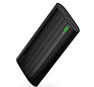 cheap -20000mAh power bank external battery 5V 1.0A 2.0AA Battery Charger Multi-Output Super Slim Automatic Adjusted Current LED