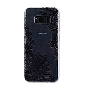 For Samsung Galaxy S8 Plus S8 Case Cover Lace Printing Pattern Drop Glue Varnish High Quality TPU Material Phone Case S7 Edge S7 S5