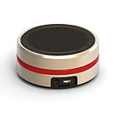 Недорогие -Мини Super Bass С поддержкой карт памяти Bult микрофон Bluetooth 3.0 Беспроводные колонки Bluetooth Золотой Черный Серебряный