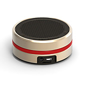 cheap -Mini Super Bass Support Memory card Bult-in mic Bluetooth 3.0 Wireless bluetooth speaker Gold Black Silver