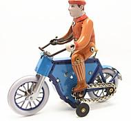 Недорогие -Игрушка с заводом Игрушечные машинки Игрушки Мотоспорт Велоспорт Металл 1 Куски Детские Подарок