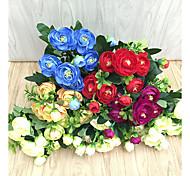 Недорогие -Искусственные Цветы 1 Филиал Пастораль Стиль Камелия Букеты на стол