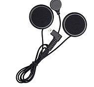 Freedconn Mini USB Motorcycle Intercom Accessories Soft Earphone Earpiece Mic for FDC-01VB T-COMVB TCOM-SC COLO TCOM-02 Full Face Helmet
