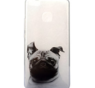 For Huawei P10 P9 Lite Case Cover Dog Pattern High Transparent TPU Material IMD Craft Mobile Phone Case P8 Lite 2017