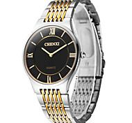 Недорогие -CHENXI® Муж. Наручные часы Кварцевый Японский кварц Повседневные часы Нержавеющая сталь Группа Кулоны Серебристый металл