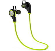cheap -In Ear Neck Band Wireless Headphones Plastic Driving Earphone with Microphone Headset