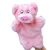 Dolls Finger Puppet Toys Rabbit Pig Animals Kid Pieces