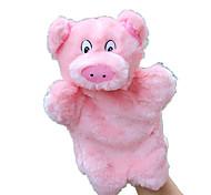 Doll Finger Puppet Toys Rabbit Pig Animals Kids Kid Pieces