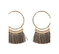 cheap -Women's Tassel Drop Earrings - Personalized Tassel Euramerican Fashion Round For Wedding Anniversary Housewarming Party Evening