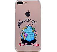 For iPhone 7 Plus 7 Phone Case TPU Material Dream Girl Series Phone Case 6s Plus 6 Plus 6S 6 5S 5 SE