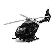 Недорогие -Игрушки Вертолет Игрушки Летательный аппарат Eagle Вертолет Металлический сплав Металл Куски Универсальные Подарок