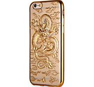 Для apple iphone 7 7plus чехол покрытие покрытие рисунок задняя крышка чехол животное мягкий tpu 6s плюс 6 плюс 6s 6