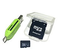 cheap -8GB MicroSDHC TF Memory Card with 2 in 1 USB OTG Card Reader Micro USB OTG