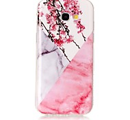 For Samsung Galaxy A3 A5 (2017) Case Cover Marble High Definition Pattern TPU Material IMD Technology Soft Package Mobile Phone Case