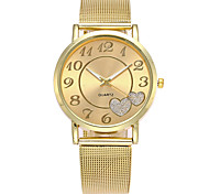 cheap -Women's Dress Watch Fashion Watch Japanese Quartz Casual Watch Alloy Band Charm Casual Elegant Silver Gold