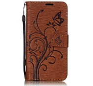 For LG G6 Case Cover The Embossing PU Leather Cases Cases / Covers for LG