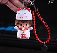Bag / Phone / Keychain Charms PVC Cell Phone Charms Cell Phone Universal Accessories