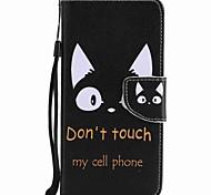 Недорогие -Чехол для мота g5 plus g5 держатель для карточек кошелек с подставкой флип-паттерн полный корпус чехол кошка твердая кожа pu
