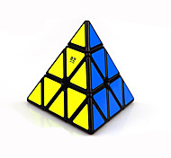 cheap -Rubik's Cube QI YI Warrior Pyramid Smooth Speed Cube Magic Cube Puzzle Cube Competition Gift Unisex