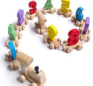 Недорогие -Игрушечные машинки Обучающая игрушка Поезд Игрушки Шлейф Дерево Детские Куски
