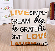 cheap -1 Pcs Live Simply Quotes & Sayings Printing Pillow Cover Fashion Cushion Cover Pillow Case