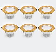 LED даунлайт Тёплый белый Холодный белый Светодиодная лампа