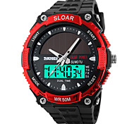 cheap -SKMEI® 1049  Men's Woman Solar ElectronicWatches Outdoor Sports Waterproof Sports Electronic Watches 50 Meters Waterproof