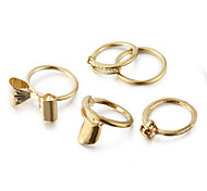 Ring Party / Daily / Casual Jewelry Alloy Women Midi Rings5