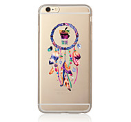Недорогие -Случай для iphone 7 7 плюс рисунок улавливателя сновидения tpu мягкая задняя крышка мультфильма для iphone 6 плюс 6s плюс iphone 5 se 5s