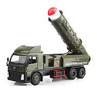 Недорогие -Игрушечные машинки Машинки с инерционным механизмом Военная техника Игрушки Шлейф Металлический сплав Металл В китайском стиле Куски Не