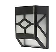 солнечные фонари 4LED солнечные фонари забор раковина огни домой солнечный свет ночи