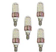 Недорогие -9 Вт. 600 lm E14 LED лампы типа Корн T 60 светодиоды SMD 2835 Тёплый белый Белый AC 85-265V