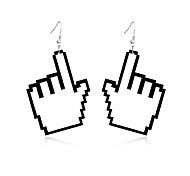 Недорогие -Жен. Серьги-слезки Бижутерия Природа Дружба Прочный обожаемый Массивные украшения резной Elegant Акрил Геометрической формы Бижутерия
