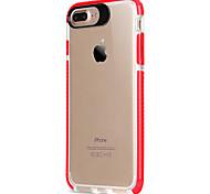 Para el iphone de la manzana 7 7 más 6s 6 más la cubierta de acrílico del marco del tpu de la cubierta del caso del tpu de la alta