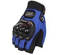 Недорогие -Спортивные перчатки Универсальные Перчатки для велосипедистов Велоперчатки Защитный Без пальцев Кожа Перчатки для велосипедистов