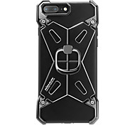 For IPhone 7 Plus 7 Nillkin Case Cover Shockproof with Stand Plating Ring Holder Back Cover Case Armor Hard Aluminium for Apple
