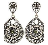 Women's Drop Earrings Basic Circular Unique Design Dangling Style Pendant Circle Friendship Fashion Luxury Vintage Statement Jewelry