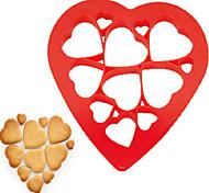 печенье инструменты торт pp антипригарная экологически чистая многофункциональная форма сердца