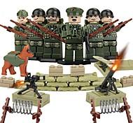economico -DILONG Costruzioni Figure a costruzioni Gioco educativo Guerriero Militare Unisex Giocattoli Regalo
